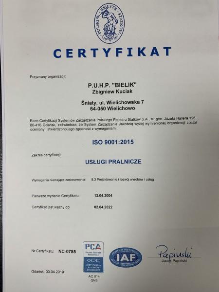 Certyfikat 2-79A